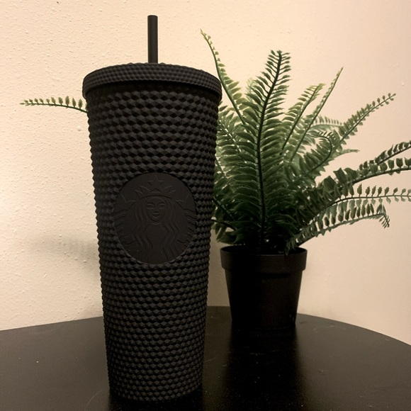 Starbucks Black Matte Studded Tumbler